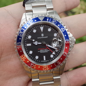 Steinhart OCEAN GMT Blue-Red