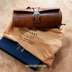 Steinhart Leather Travel Watch Case