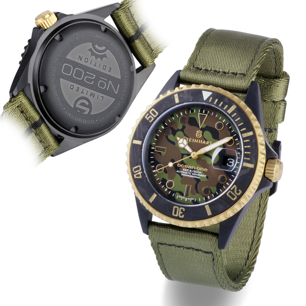 Steinhart Ocean 39 black MILITARY Camouflage Product Image